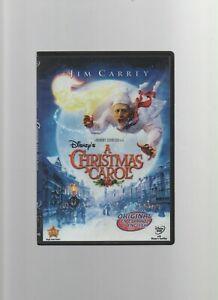 A Christmas Carol - Disney DVD - Jim Carrey - PG - Spanish / English - Zemeckis   eBay