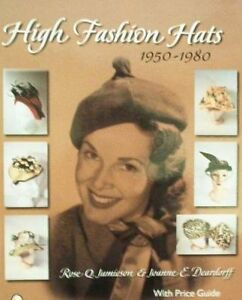 BOOK-LIVRE-BOEK-BUCH-FASHION-HATS-CHAPEAU-DE-MODE-HOED-HUT-1950-1980