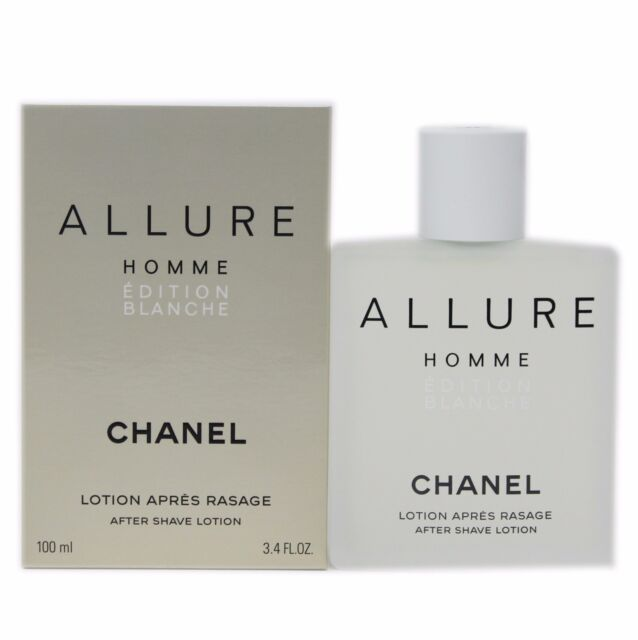 de90bb896626 CHANEL Allure Homme Edition Blanche After Shave Lotion 100ml   eBay