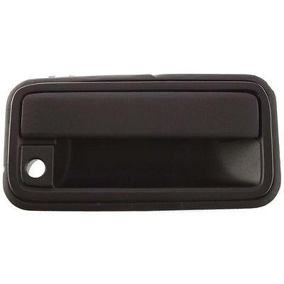 88-02 Chevrolet GMC C//K Full Size Pickup Black Front Outer Door Handle Left Side