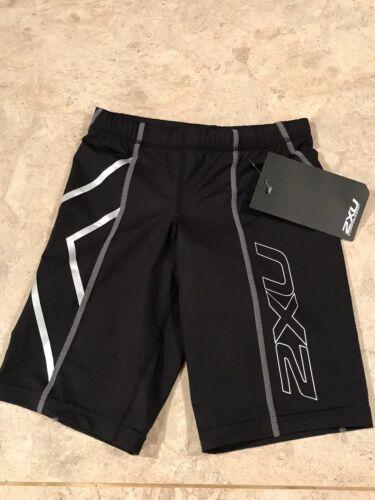 2XU Noir Compression Shorts Taille XS Femme Neuf Avec Étiquettes