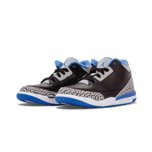 Details about Air Jordan 3 Retro Youth BP Basketball Athletic Shoes 429487 007 Size: 3
