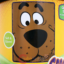 "Scooby Doo Big Face Plush Microfiber Raschel Throw Blanket 46"" x 60""Close Canine"