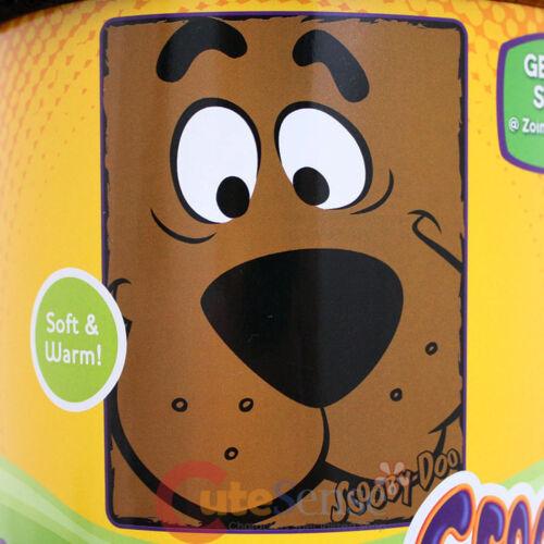 "Scooby Doo Big Face Plush Microfiber Raschel Throw Blanket 46/"" x 60/""Close Canine"