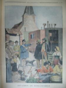 ROMANICHEL-GITAN-INVASION-ARNOUVILLE-SOUS-MARIN-MARSEILLE-LE-PETIT-JOURNAL-1901