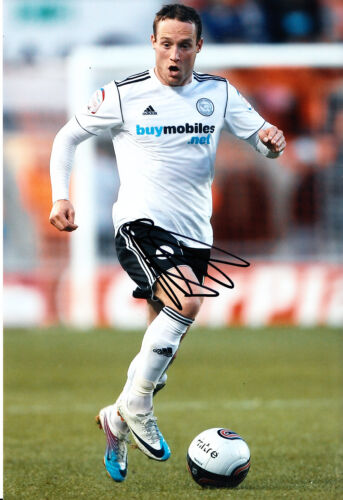 Derby County F.C Ben Davies Hand Signed 1112 Photo 12x8 3.