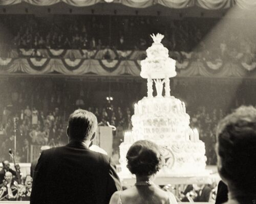 Birthday salute to President Kennedy at Madison Square Garden NY New 8x10 Photo