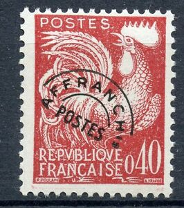 STAMP-TIMBRE-FRANCE-PREOBLITERE-NEUF-SANS-GOMME-N-121-TYPE-COQ