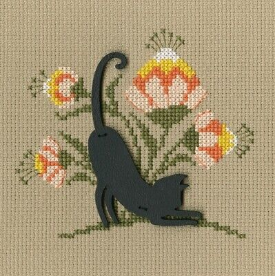 New Counted Cross Stitch Embroidery Kit Cat RTO Manufacture