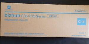 § KONICA MINOLTA BIZHUB C35 /C25 series imaging unit IUP14C - CYAN