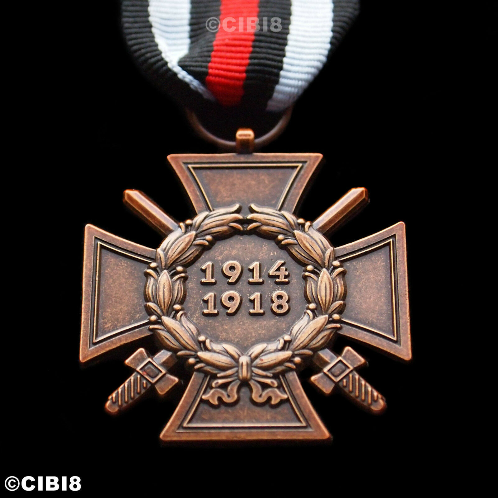 The Honour Cross Of The World War 1914 1918 Ww1 German Hindenburg