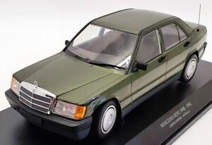 Minichamps-Escala-1-18-155037001-1982-Mercedes-Benz-190E-W201-Verde-Met