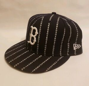 639521dd061 Boston Redsox MLB New Era 59FIFTY Fitted Baseball Hat- Size 7 1 2 ...