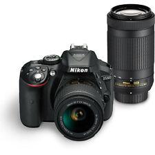 Nikon D5300 DSLR Camera with Kit Lens (AF-P DX 18-55 mm + 70-300 mm VR Lens Kit
