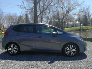 2015 HONDA FIT EX-L (LOADED: Leather, Mags, Navi, Sunroof)