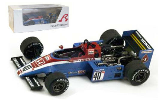Spark Spirit Honda 201C Dutch GP 1983 - S Johansson 1 43 Scale