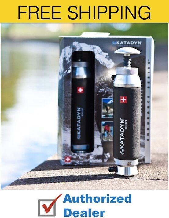 Katadyn Filtro Y Purificador De Agua  Bolsillo Micro 8013618, Envío Gratis  calidad auténtica