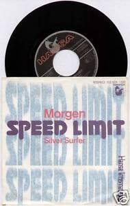 SPEED-LIMIT-MORGEN-SILVER-SURFER-1980-GERMAN-7-034-SINGLE-P-S
