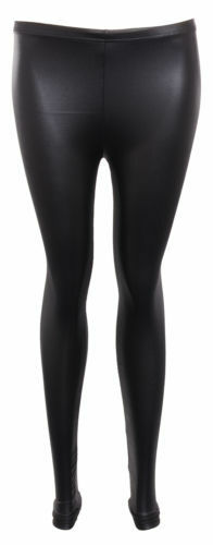 New Ladies Womens Jessie J Leather Wet Look PVC PU Top Midi Skirt Legging Dress