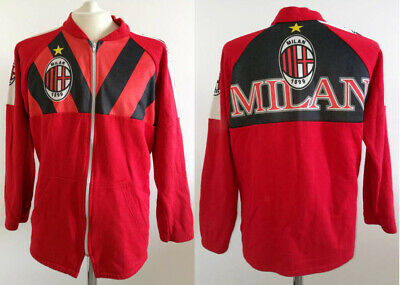 Jacket Jacket AC Milan 1995 SOCCER TRACKTOP JACKET SUDADERA vintage shirt | eBay