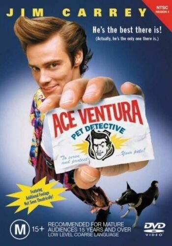 1 of 1 - Ace Ventura - Pet Detective (DVD, 2001)