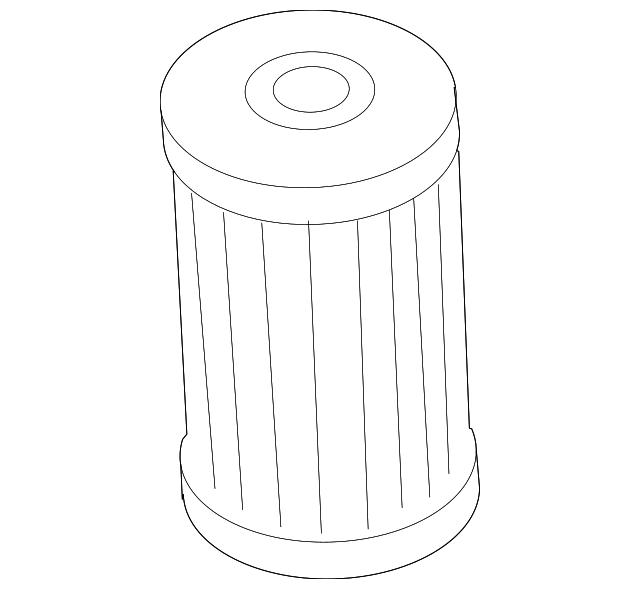 Genuine Audi Transmission Filter 02E-305-051-C