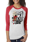 Colin Kaepernick Rosa Parks - Stand by Sitting - Unisex Raglan 3/4 Sleeve Shirt