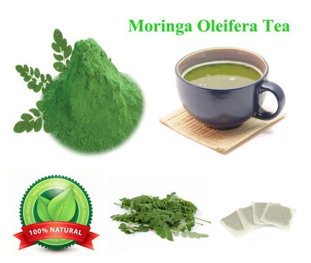 Moringa Oleifera Tea Bags Herbal Organic Antioxidants Anti Aging Healthy Recipes