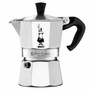 GENUINE BIALETTI 2 CUP MOKA EXPRESS Espresso Stovetop Coffee Maker Percolator