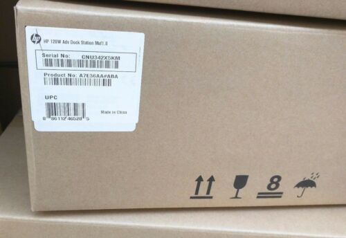 A7E36AA#ABA Brand New HP 120W ADVANCED Docking Station w//o power adapter