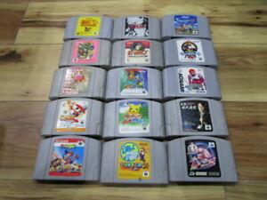 Nintendo-64-Lot-of-15-piece-Legend-of-Zelda-Super-Mario-N64-Japan-p535