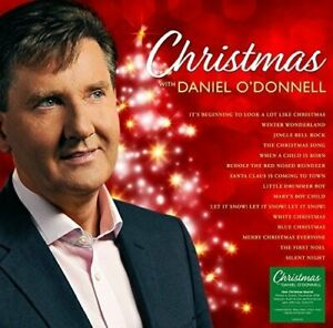 DANIEL-O-039-DONNELL-Christmas-With-180g-coloured-vinyl-LP-signed-card-NEW-SEALED