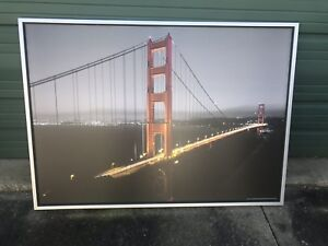 Large Ikea Vilshult Golden Gate Bridge Framed Print Ebay