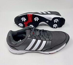New Mens Adidas Tech Response 4 0 Golf Shoes Iron White Size 8 M Ebay