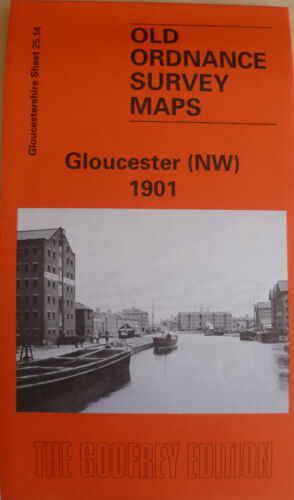 1901 Sheet 218.05 Old Ordnance Survey Maps Gloucester NW