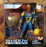 Shadow Raiders Pyrus Misb War Planets Action Figure Trendmasters