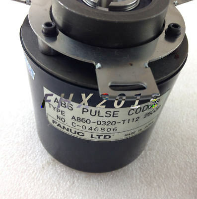 ONE USED Fanuc A860-0320-T112 Encoder Good Condition