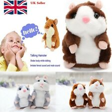 UK Talking Hamster Mouse Records Speech Nod Mimicry Plush Toy Kid's Best Gifts
