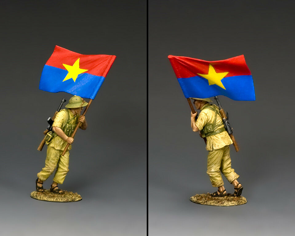 KING & COUNTRY VIETNAM WAR VN029 NVA FLAG BEARER MIB