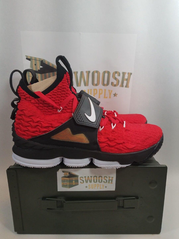 best website 7d53f a53c2 Nike Nike Nike LeBron 15 XV primer Rojo diamond turf varsity rojo hombres  cómodos baratos zapatos. Nike Kobe x 10 Elite ...