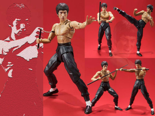 Neu Figma S.H.Figuarts SHF Bruce Lee Kung Fu 75th Action Figure Figur 15cm NoBox