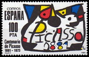 2609-CENTENARIO-DE-PABLO-RUIZ-PICASSO-1981-MIRo-100-PESETAS