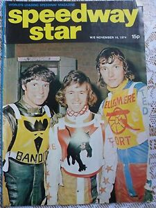 Speedway Star and News 16th November 1974 - <span itemprop=availableAtOrFrom>Calne, United Kingdom</span> - Speedway Star and News 16th November 1974 - Calne, United Kingdom