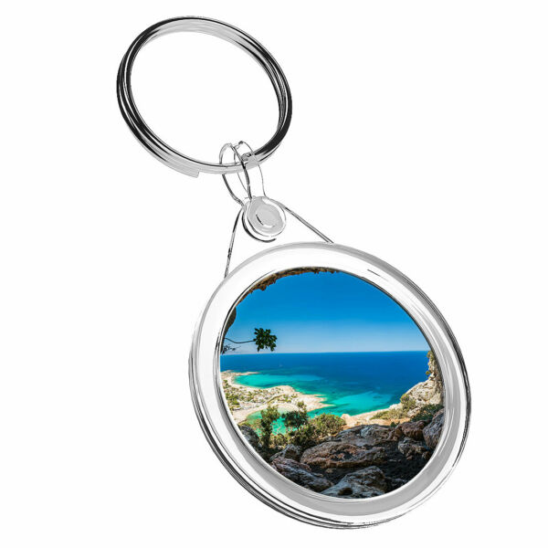 1 Cool X Sunny Beach Creta Grecia-portachiavi Ir02 Mamma Papa 'regalo Di Compleanno #16641 Fissare I Prezzi In Base Alla Qualità Dei Prodotti