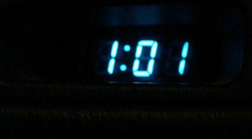 Blue Screen Toyota MR2 MK2 1989-1999 Mr MR2 Type Clock