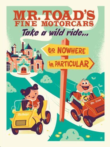 Toad Art Postcard NEW Disney Wonderground Gallery Mr