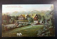 Nieder Schreiberhau Riesengebirge Dachsbaude 1919