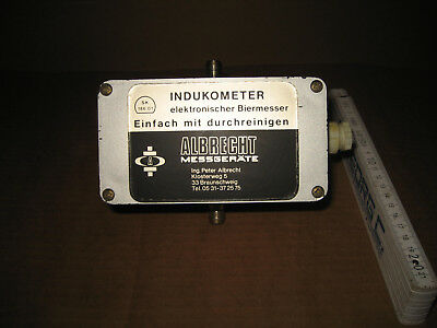 Albrecht Indukometer für Elektro Durchflusszähler Bierzähler Getränkezähler 47