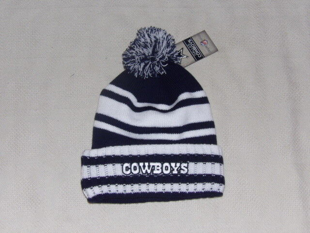 ... real dallas cowboys beanie skull cap hat skully toboggan knit nfl  football osfa ebay 396aa aba4f 163360e5479