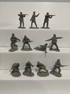 Conte-WWII-German-Infantry-11-Figures-1-32-54mm-E